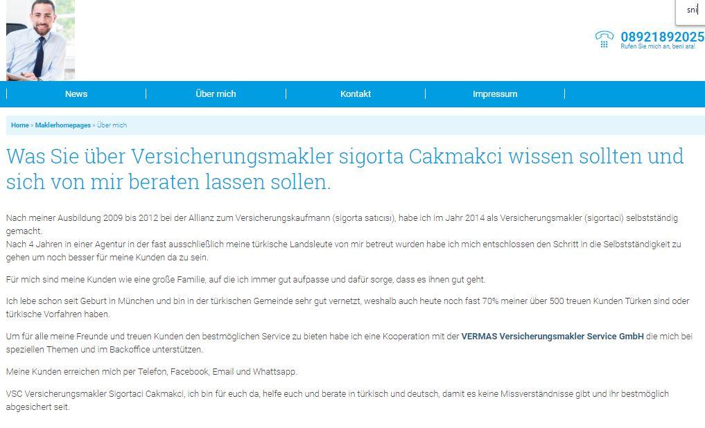 Website Sigorta Samet Cakmakci